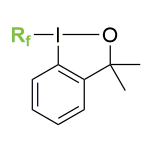 Higher perfluoroalkyl Togni reagents